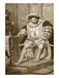 King Henry VIII of England Premium Giclee Print
