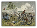 Battle of Gettysburg Pickett's Charge Giclee Print