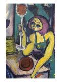 Dexter's Cab Label Giclee Print by Gina Bernardini