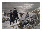 Washington and Lafayette at Valley Forge Giclee Print