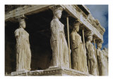 Porch of Maidens (Caryatids), Erechtheum Giclee Print