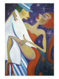 Tango Giclee Print by Gina Bernardini