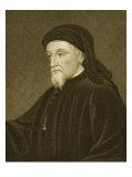 Geoffrey Chaucer Giclee Print