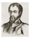 De Soto, Hernando (1492-1542), Spanish Explorer Who Giclee Print