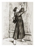 Martin Luther Posting His 95 Theses Giclee Print