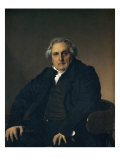 Portrait de Louis-Francois Bertin Giclee Print by Jean-Auguste-Dominique Ingres