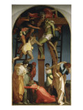 The Descent from the Cross Giclée-tryk af Rosso Fiorentino (Battista di Jacopo)