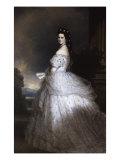 Empress Elizabeth of Austria Giclee Print by Franz Xavier Winterhalter