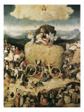 The Hay-Cart Giclee Print by Hieronymus Bosch