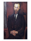 Portrait of Wielhorski Giclee Print by Amedeo Modigliani