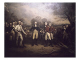 Surrender of General Burgoyne at Saratoga New Giclee Print by John Trumbull