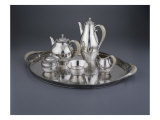 Tea and Coffee Service, Silver Giclee Print