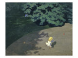 Child Playing with the Ball (Corner of the Park Gicl&#233;e-Druck von F&#233;lix Vallotton