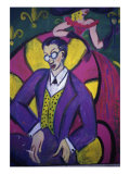 Banker and His Wife Giclee Print by Gina Bernardini