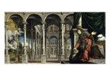 The Annunciation Giclee Print by Paris Bordone