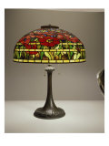 Lamp, Tiffany Poppy Table Giclee Print