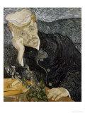 Portrait of Dr. Gachet Giclée-tryk af Vincent van Gogh