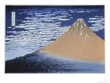 Red Fuji Giclee Print by Katsushika Hokusai