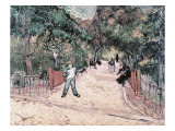 Entrance to the Public Gardens in Arles, c.1888 Giclee Print by Vincent van Gogh