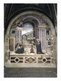 Annunciation Giclée-tryk af Bernardino di Betto Pinturicchio