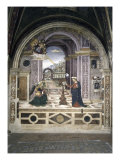 Annunciation Giclee Print by Bernardino di Betto Pinturicchio