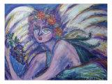 Angel X Giclee Print by Gina Bernardini