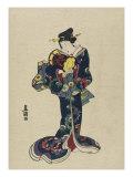 Kotsuzumi Premium Giclee Print by  Toyokuni
