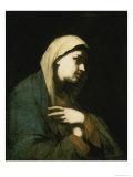 María Magdalena Lámina giclée por Luca Giordano