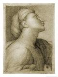 Profil de Visage D'Apres Raphael Giclee Print by Jean-Auguste-Dominique Ingres
