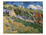 Thatched Cottages Giclee Print by Vincent van Gogh