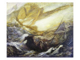 Flying Dutchman Giclee Print by Albert Pinkham Ryder