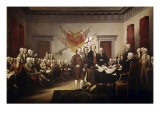 Signing of the Declaration of Independence Reproduction procédé giclée par John Trumbull