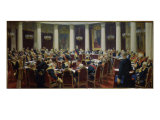 The Sitting of the Supreme Council Reproduction procédé giclée par Ilya Efimovich Repin