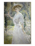 The White Gown Giclee Print by Robert Payton Reid