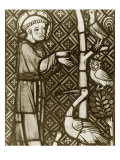 St. Francis Preaching to the Birds Giclee Print