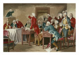 Patrick Henry Addressing the Virginia Assembly Premium Giclee Print