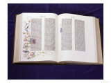 Gutenberg Bible: Book of Daniel Giclee Print