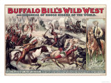 Buffalo Bill's Wild West (Poster) Giclee Print
