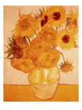 Les Tournesols, 1888 Reproduction proc&#233;d&#233; gicl&#233;e par Vincent van Gogh