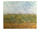 Weizenfeld mit Lerche Gicl&#233;e-Druck von Vincent van Gogh