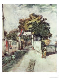 Entrance to the Moulin de la Galette Giclee Print by Vincent van Gogh