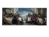 Dinner in the House of the Pharisee Giclee Print by Paolo Veronese