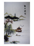 Chinese Lake Giclee Print