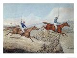 Hunting Scene Giclee Print by Samuel Henry Alken