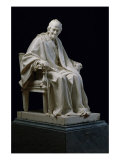 Voltaire Giclee Print by Jean-Antoine Houdon