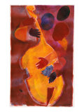 Double Bass, Triple Head Giclee Print by Gil Mayers