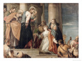 Healing the Woman with the Issue of Blood Giclee Print by Paolo Veronese
