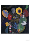 Jazz Velvet Giclee Print by Gil Mayers