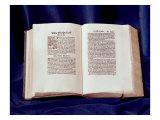 Tyndale Bible: St. Luke's Gospel Giclee Print