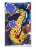Hot Sax Giclee Print by Gil Mayers